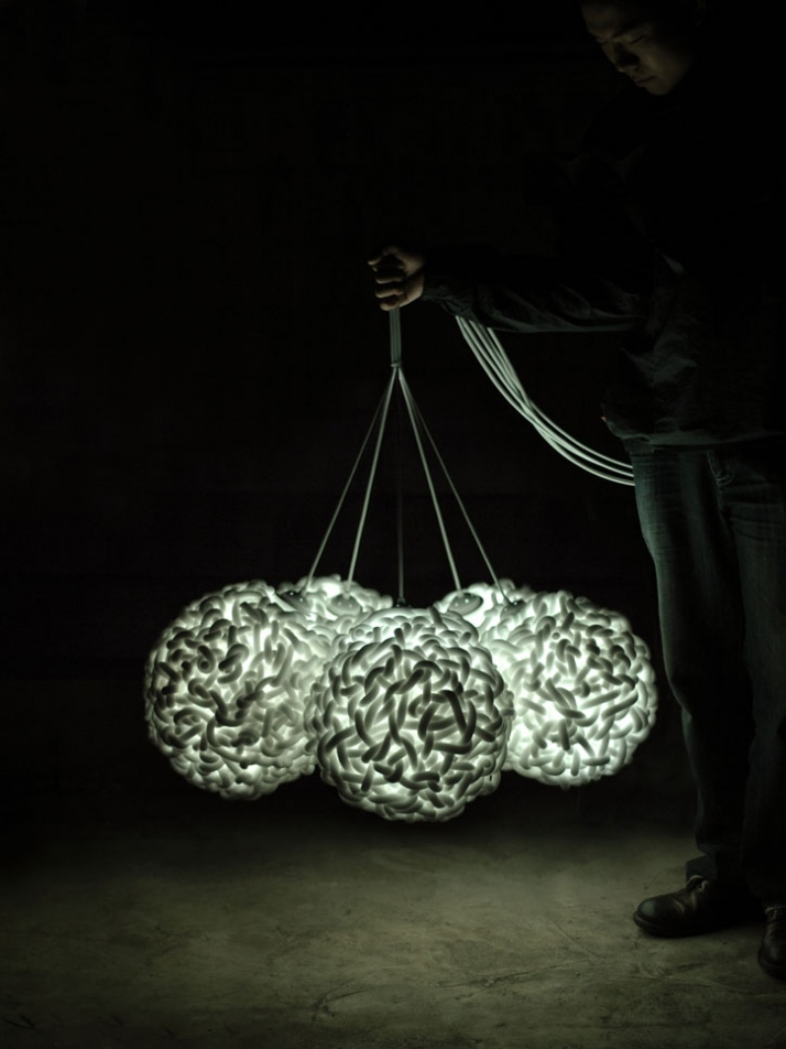 re_love lighting series by studio MAEZM