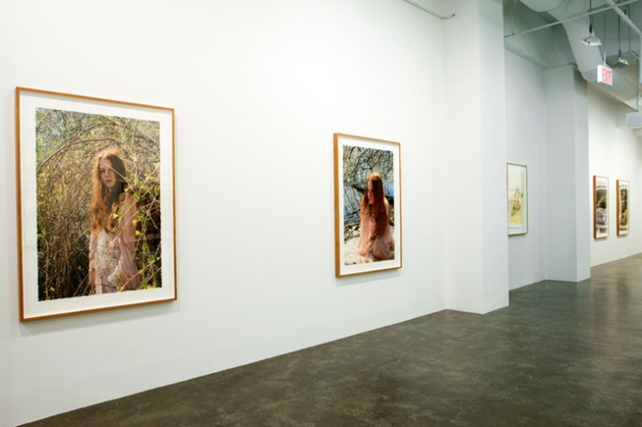 Installation view  // Courtesy of Mike Weiss Gallery, New York