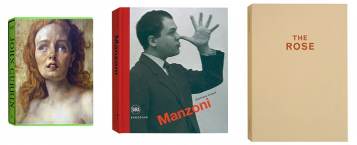 "John Gurrin, Manzoni and ""The Rose"" by Cy Twombly are some of the most wanted Gagosian Publications"