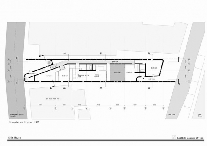 site plan © EASTERN DESIGN OFFICE