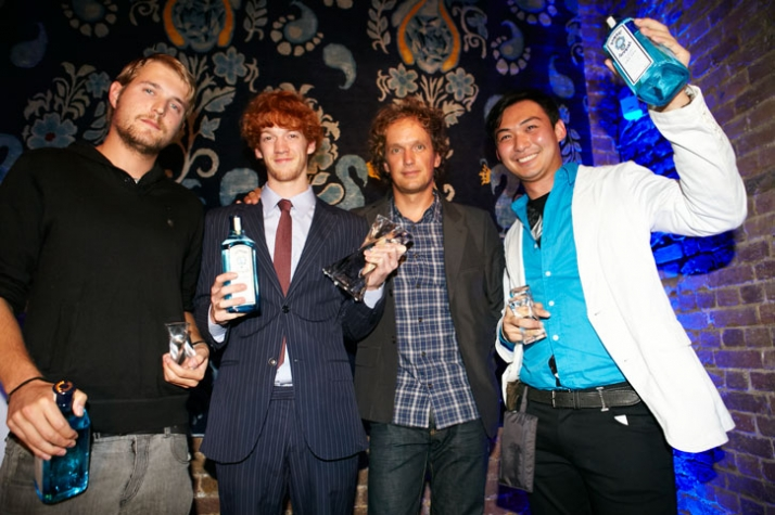 Nathan Studer, Bruno Everling, Yves Behar, Ekarin Khunapinya Courtesy of Bombay Sapphire