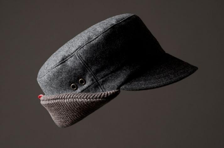 FELT HAT // Fur felt / cashmere & merino wool knit // EUR 195