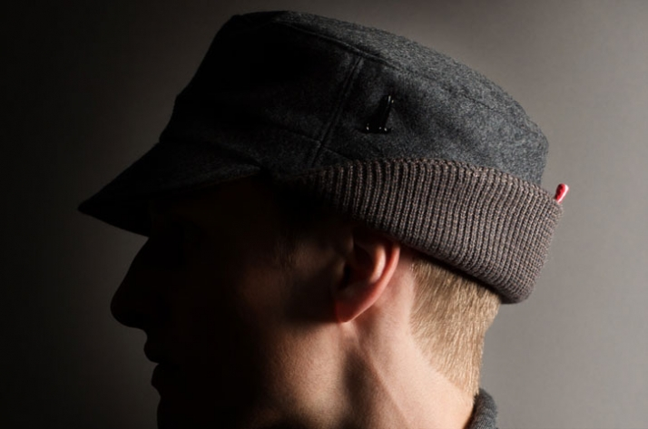 LODEN CAP // Wool loden / cashmere & merino wool knit // EUR 130