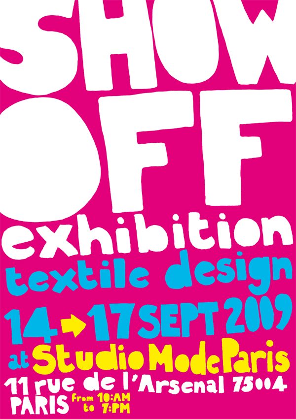 the flyer of SHOW OFF 2009