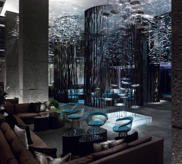 W hotel by burdifilek in atlanta yatzer for Hotel decor original