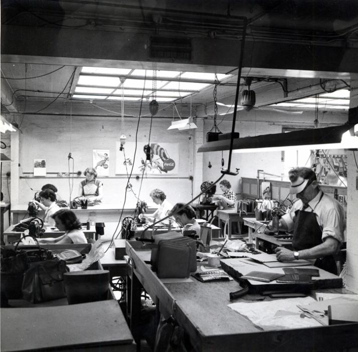 Ateliers Delvaux, 1950 © Delvaux Créateur