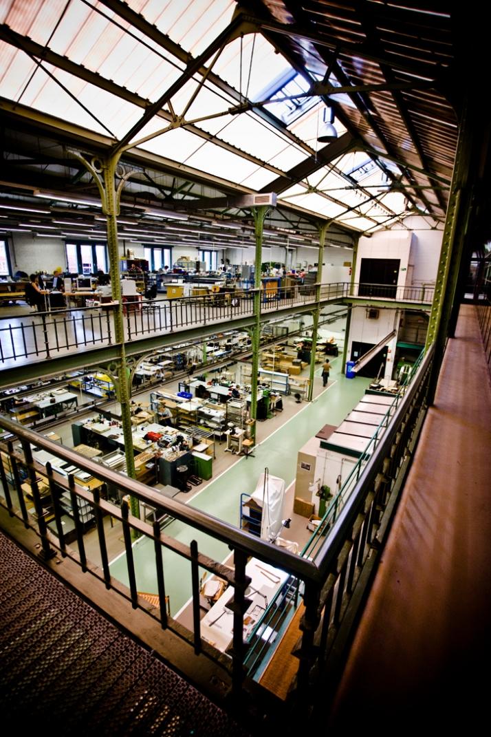 Ateliers Delvaux, 'Het Arsenaal', Brussels © PhotographyWout Hendrickx