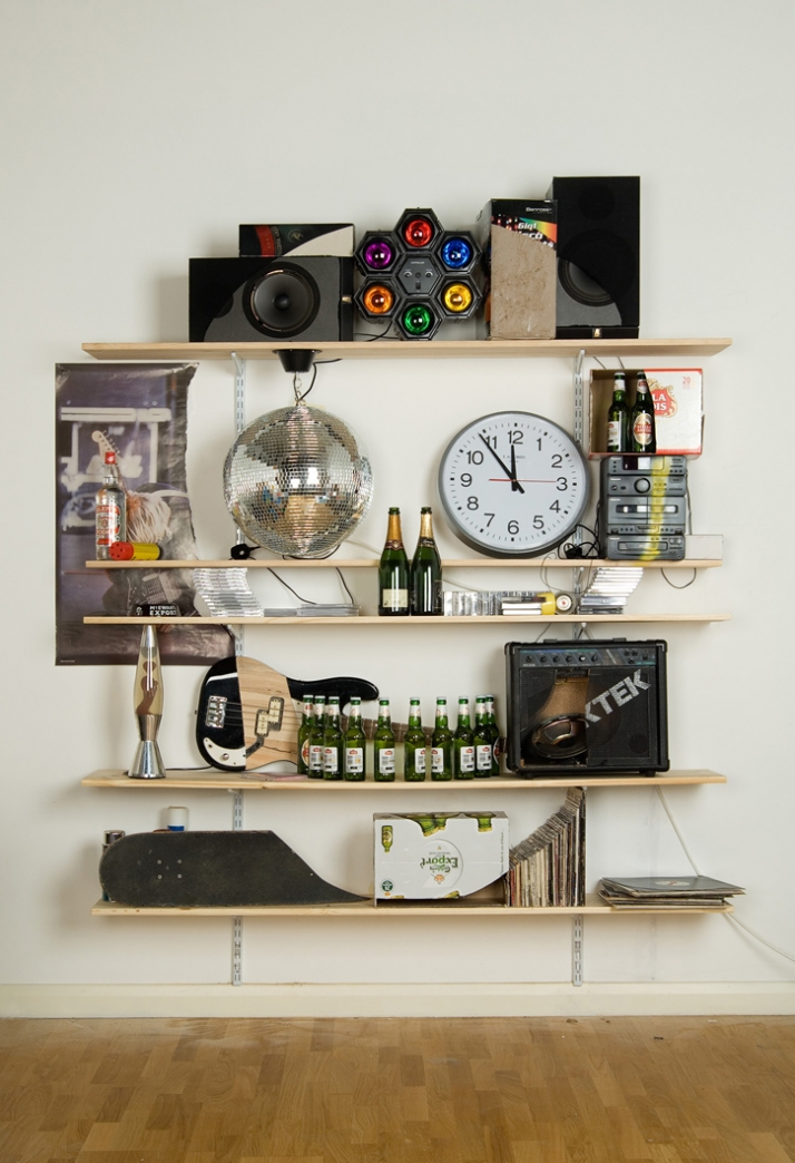 Artist: JAMES HOPKINS Title: Wasted Youth Date: 2006 Dimensions: 250cm x 160cm x 46cm Materials: various materials
