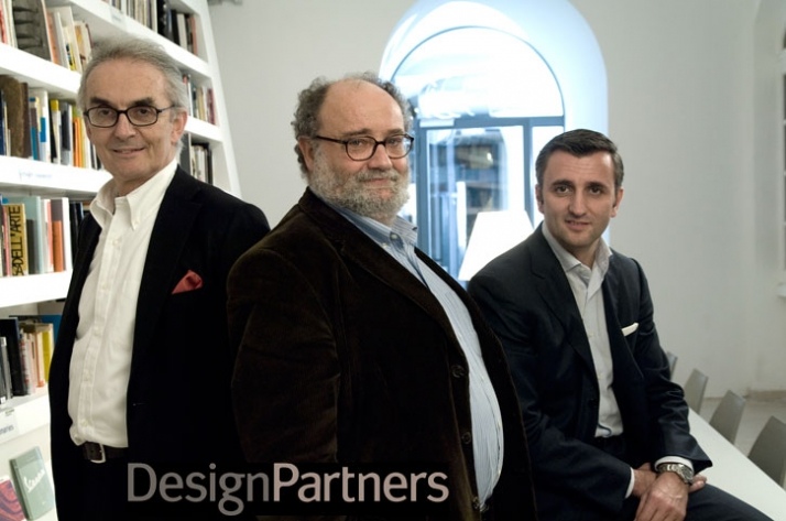 THE DESIGNPARTNERS // Valerio Castelli (Board Member) // Luca Fois (President) // Maurizio Ribotti (CEO) Image Courtesy of DesignPartners