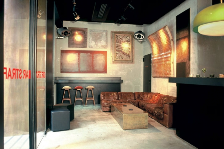 STRAF Hotel & Bar Image Courtesy of DesignPartners