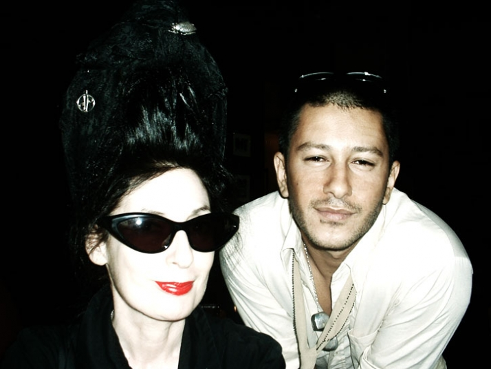 Diane Pernet & Filep MotwaryImage courtesy of Filep Motwary