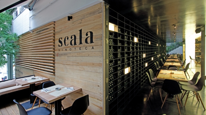 photo © George Fakaros Image Courtesy of SCALA vinoteca