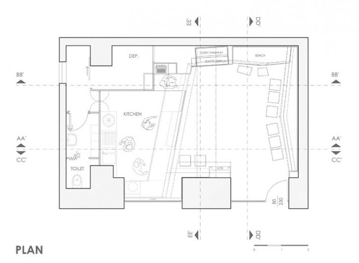 floor plan © UAU