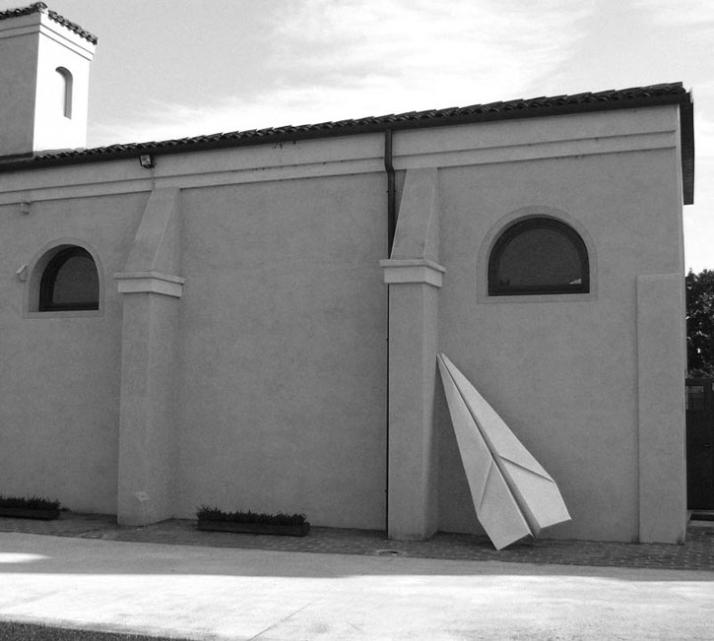 Aereo white marble, 300x100x70 cm, 2007