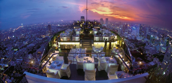 Copyright: Banyan Tree Hotels & Resorts Title: ARCHITRAVE, Vertigo Grill and Moon Bar, Bangkok, Thailand