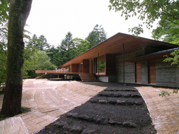 House in Hanareyama // Image Courtesy of Kidosaki Architects studio