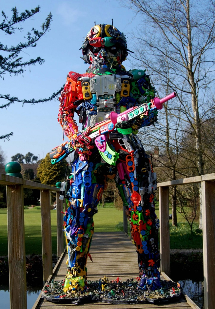 Toy Soldier at Quenington 61 // © Robert Bradford Image Courtesy of Robert Bradford