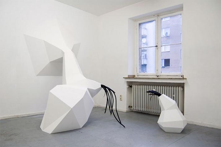 undisclosed connection, 2007, installation,  © Matthias Männer, Courtesy Gallery Dina4 Projekte, Munich