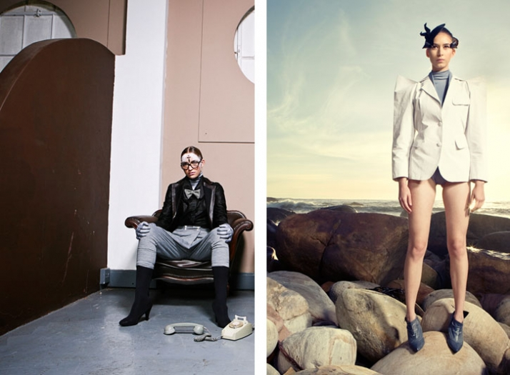 Suzaan Heyns // Autumn/Winter '09-10 photo © Brett Rubin