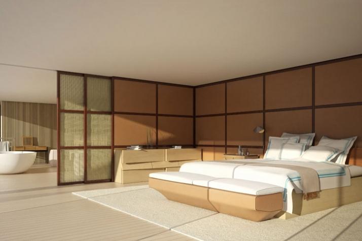 3D interior image // Courtesy of Wally Hermès Yachts