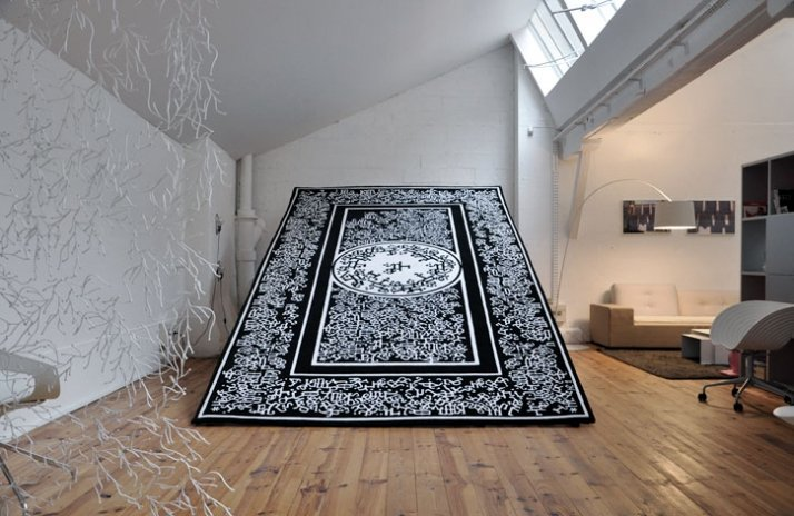 Occidorient carpet by François Mangeol