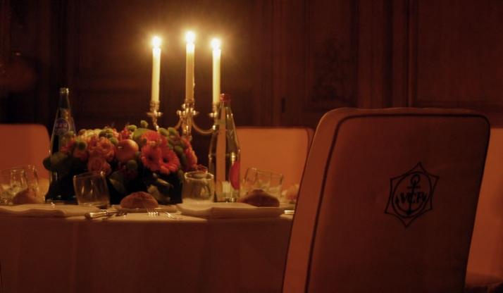 special dinner inside Hôtel Particulier Image Courtesy of Yatzer.com
