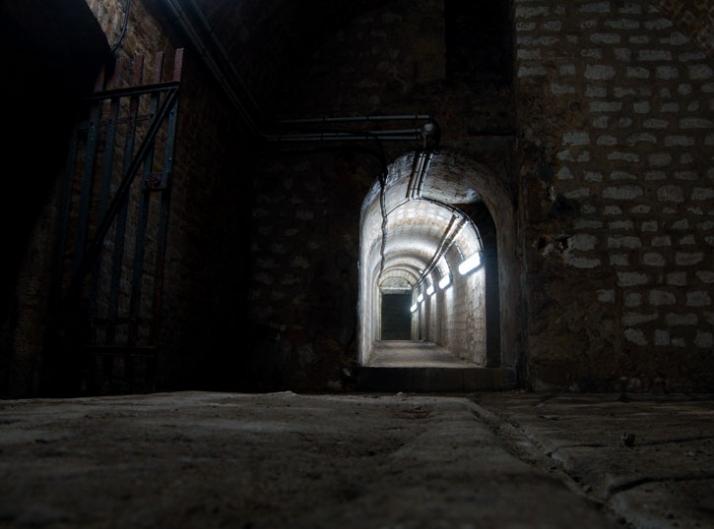 Inside the secret cellars of Hôtel Particulier du Marc Image Courtesy of Yatzer.com