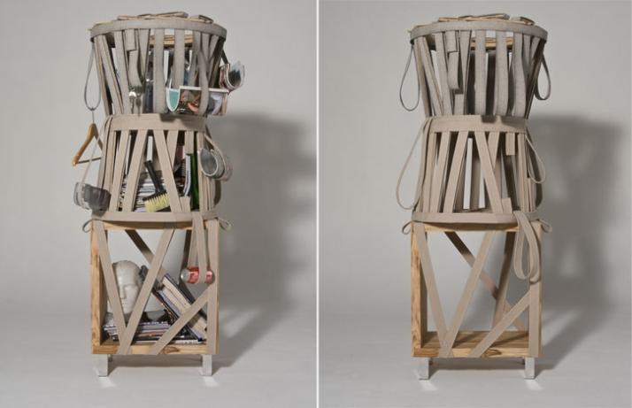 arapuca shelf, 2009 © Rodrigo Almeida