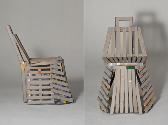 paper chair, 2009 © Rodrigo Almeida