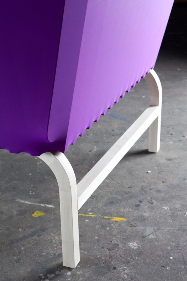 Spaziale Series by wai & lanzavecchia chair detail photo: Davide Farabegoli