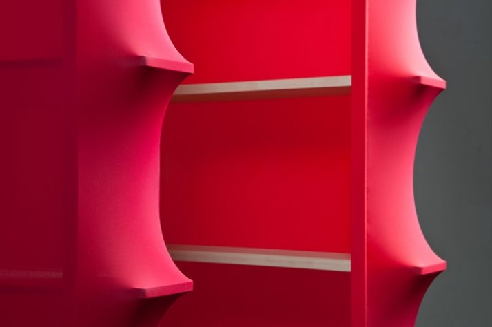 Spaziale Series by wai & lanzavecchia shelf detail photo: Davide Farabegoli