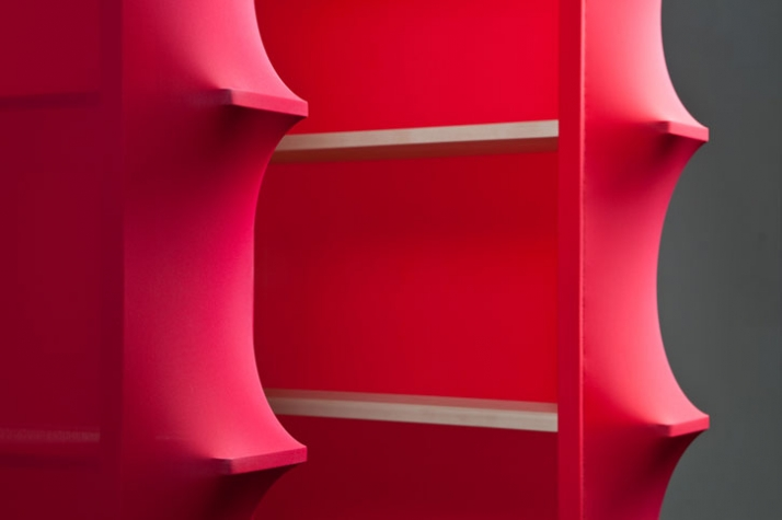 Spaziale Series by wai & lanzavecchia shelf detail photo: Davide Farabegoli