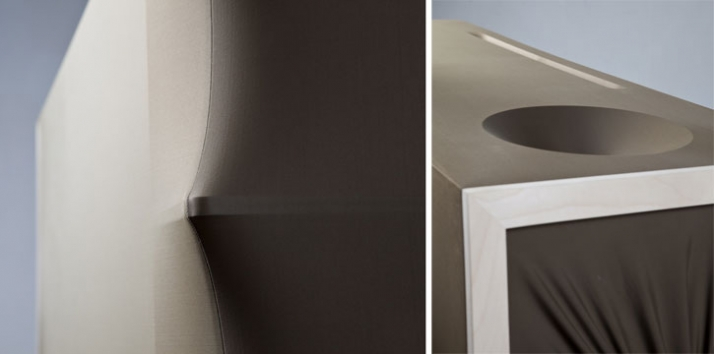 Spaziale Series by wai & lanzavecchia commode detail photo: Davide Farabegoli