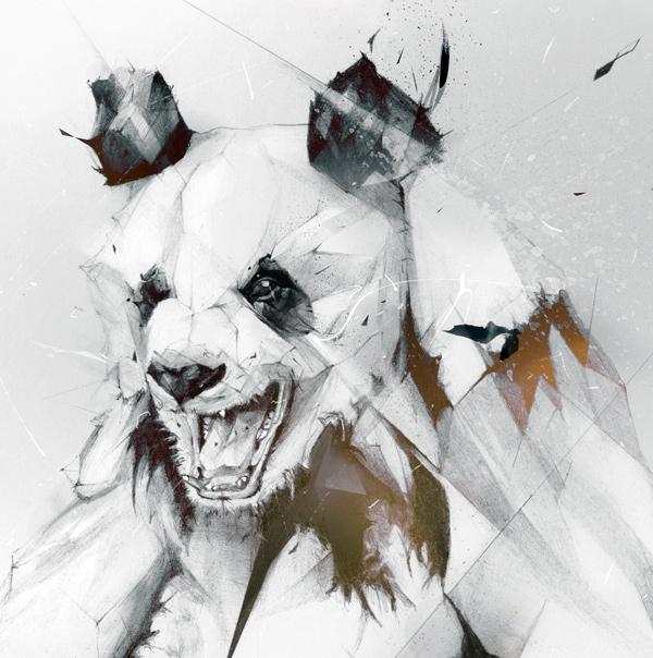 """""""Panda"""" by Alexis Marcou"""