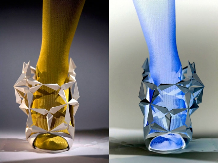 """Prism shoe"" A study of structure photo by Ian Murphy"