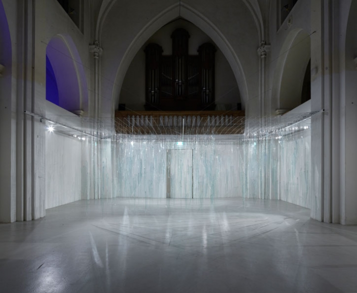 Ruri (IS) Glass Rain, 1984 Photo: Anders Sune Berg Kunsthallen Nikolaj