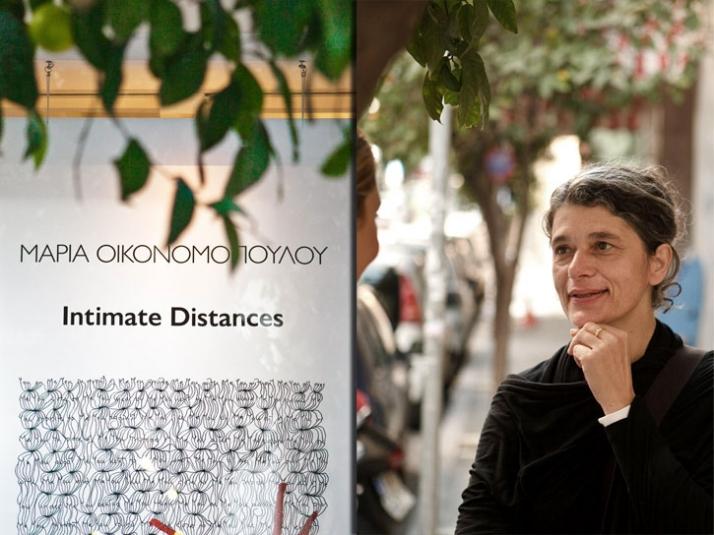 Maria Ikonomopoulou // portrait photo © Odysseas Lekkas