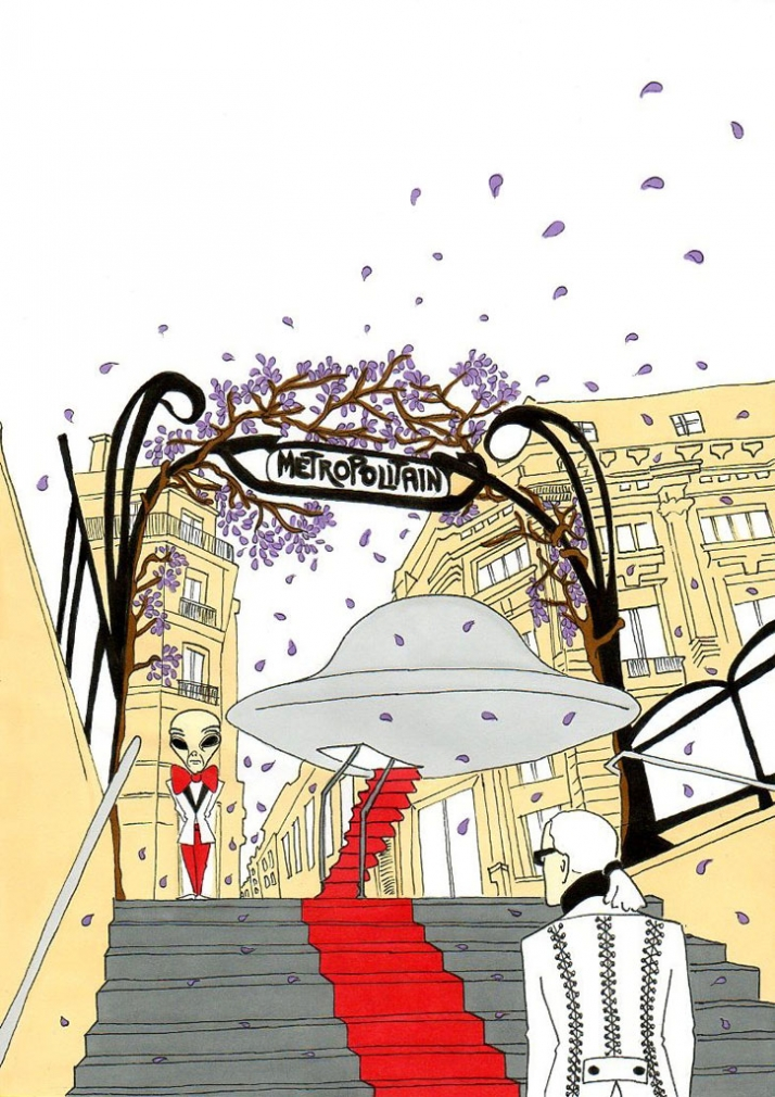 """Karl's Journey"", the art of imagination Illustration by aleXsandro Palombo"