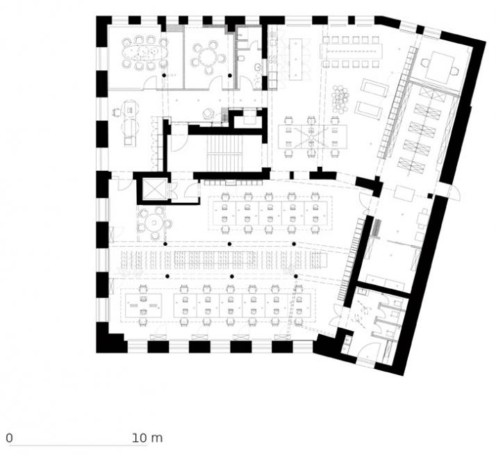 New offices for studio ippolito fleitz group yatzer for Ippolito fleitz group