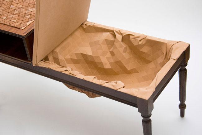 متریال پارچه های چوبی ، متریال طراحی داخلی