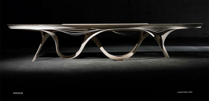 ENIGNUM table  // ©  Joseph Walsh
