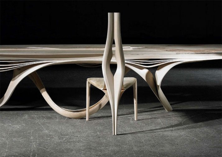 ENIGNUM table  & chair // ©  Joseph Walsh