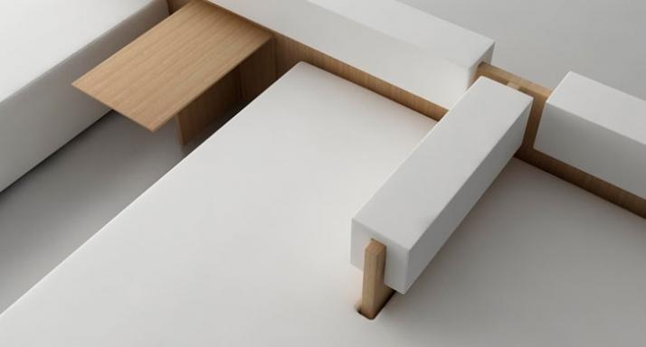 Cut Sofa // detail