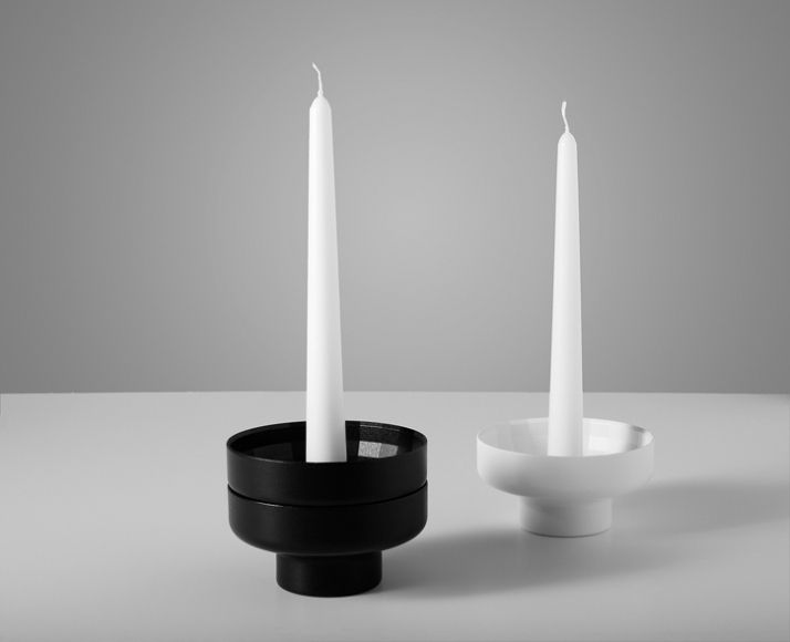 Stackable Candleholders // Image Courtesy of StokkeAustad & Frost Product