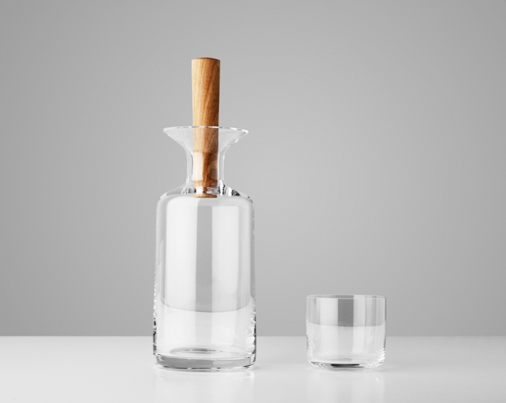 Water Carafe and Glass // Image Courtesy of StokkeAustad & Frost Product