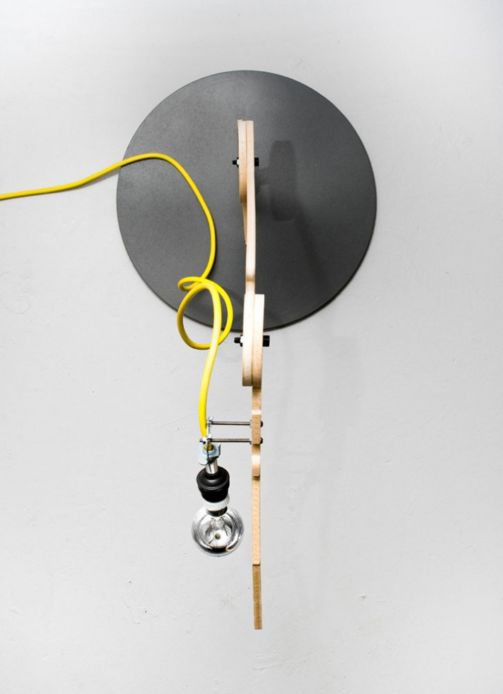 2D lights collection table industrial lamp  #1x:35 . y:50 Image Courtesy of 157+173 Designers