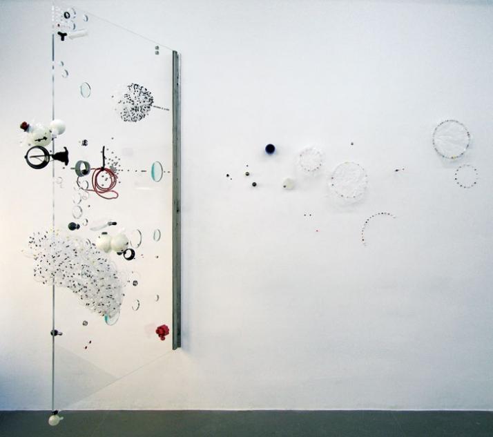 Sofi ZezmerREM LS1 // 2008 Metal, plexi and glass 78 3/4 x 43 1/4 x 86 5/8 inches (200 x 110 x 220 cm) SZ-072 Courtesy of Mike Weiss Gallery, New York