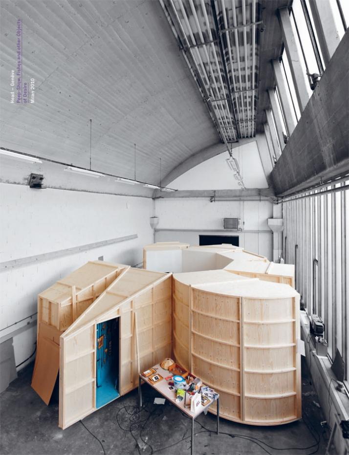 Peep show installation (poster) © Head –Genève