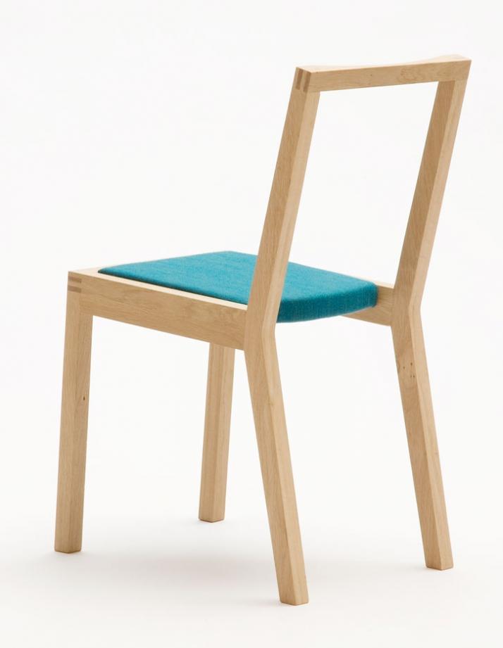 Upholstered chair // photo © Ricki van der Tas