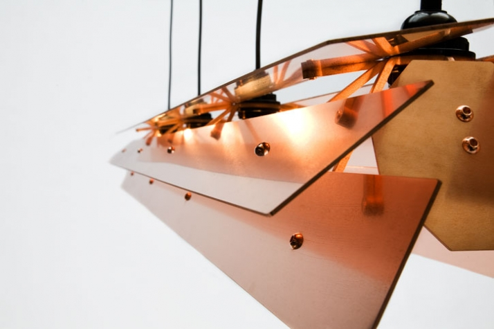 Copper shade (detail) // photo © Ricki van der Tas